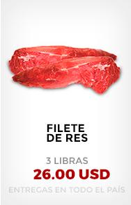 Filete de Res (3 Lb)