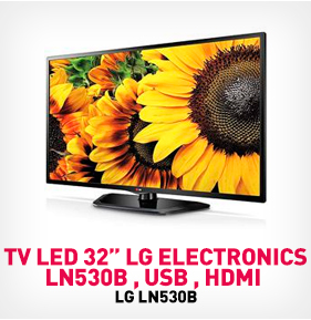 TV LED 32 pulg LG Electronics LN530B , USB , HDMI