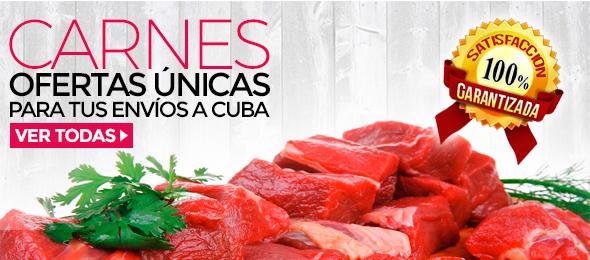 CARNES!!! Ofertas únicas para tus envios a Cuba