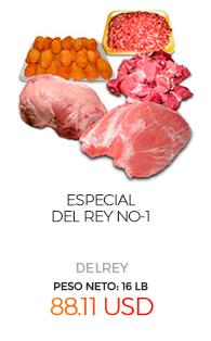 Especial Del Rey No-1, Peso Neto aproximado: 16 Lb