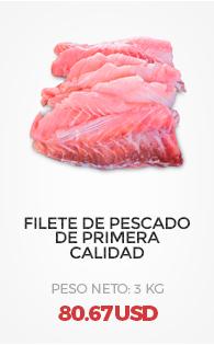 Filete de Pescado de Primera Calidad (3 Kg)