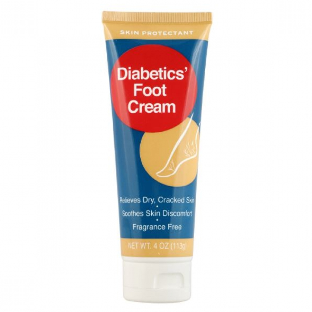 Diabetic S Foot Cream Skin Protectant Fragance Free 113 G